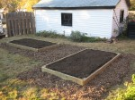 Raised Beds - after